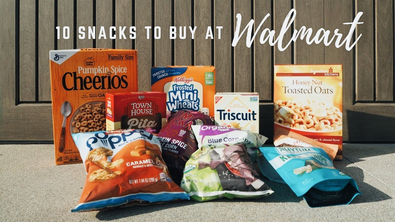 Healthy Snacks To Buy At Walmart  10 Healthy Snacks To Buy At Walmart