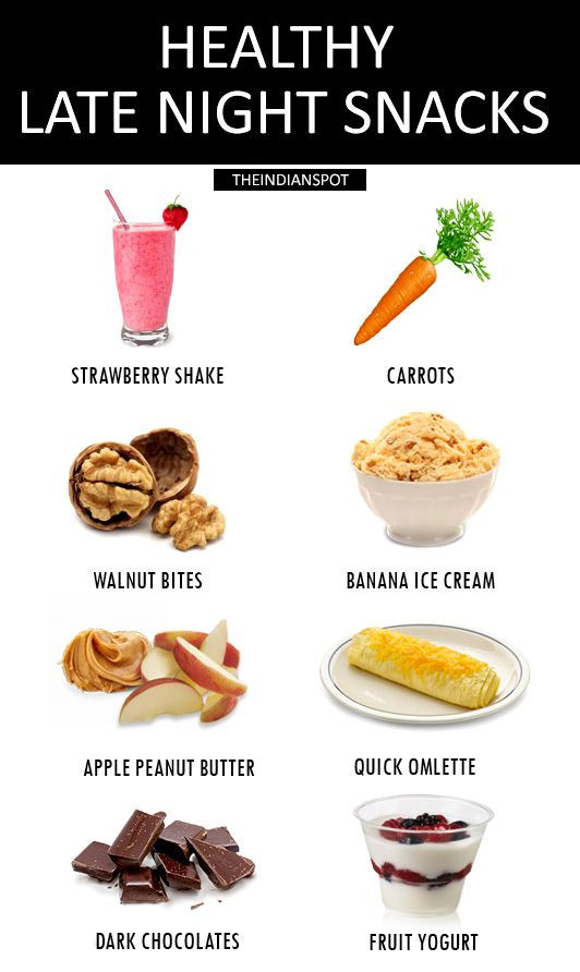 Healthy Snacks To Eat At Night  1000 ideas about Healthy Late Night Snacks on Pinterest