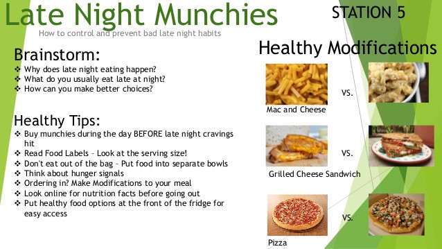 Healthy Snacks To Eat At Night  healthy foods to eat at night