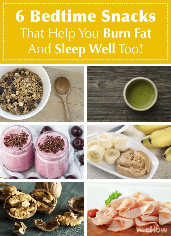 Healthy Snacks To Eat Before Bed  6 Bedtime Snacks That Help You Burn Fat And Sleep Well