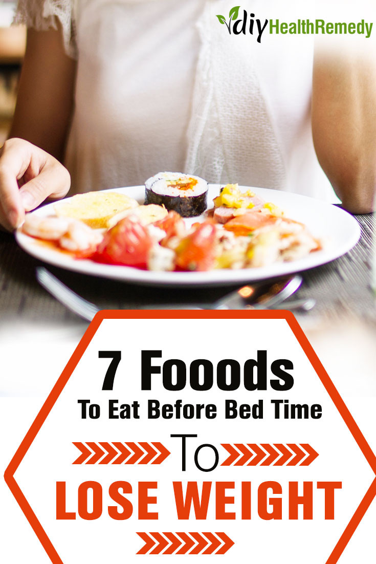 Healthy Snacks To Eat Before Bed  7 Foods To Eat Before Bedtime To Lose Weight