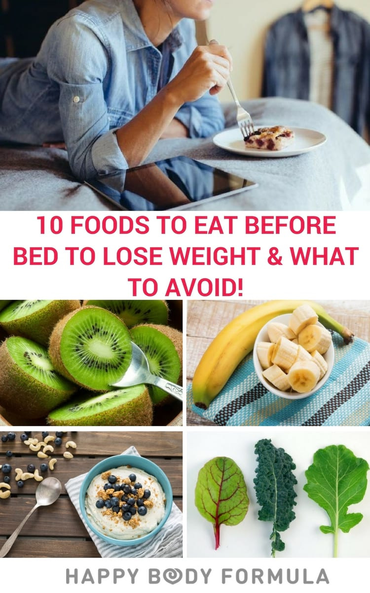 Healthy Snacks To Eat Before Bed  10 Best Foods to Eat Before Bed to Lose Weight And What
