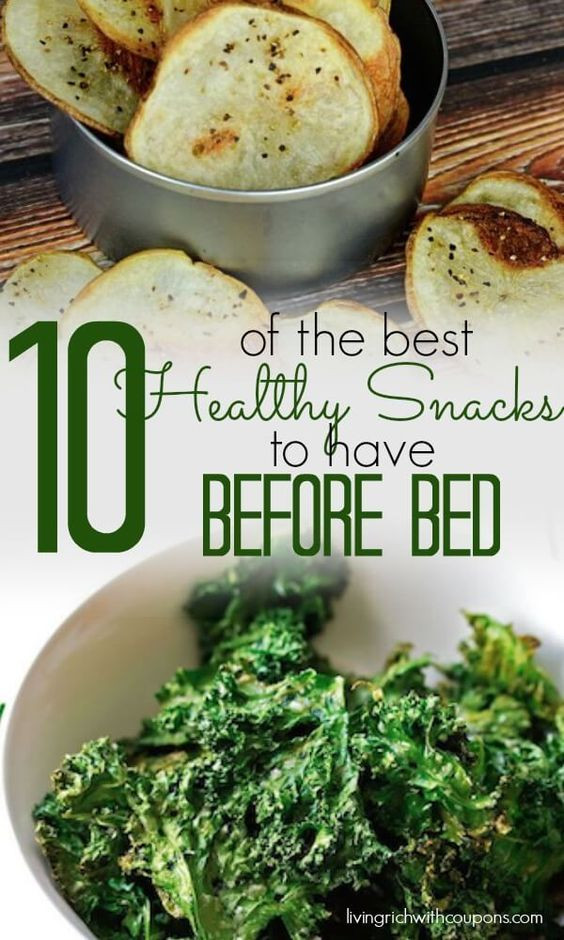 Healthy Snacks To Eat Before Bed  18 best images about Healthy Snacks on Pinterest