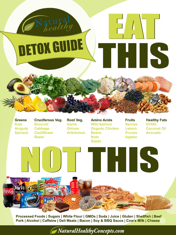 Healthy Snacks To Eat Throughout The Day  Detox Guide Day 1 Your Detoxification Food Plan