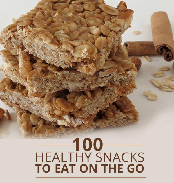 Healthy Snacks To Go  100 Healthy The Go Snacks