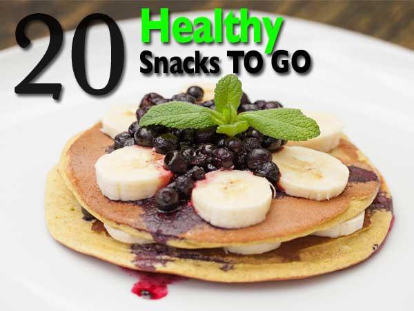Healthy Snacks To Go  20 Healthy Snacks To Go