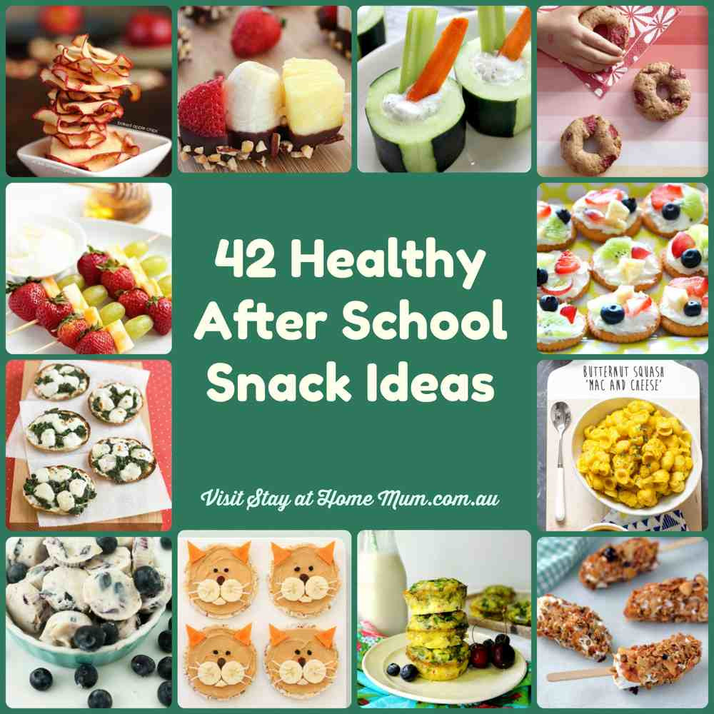 Healthy Snacks To Keep At Home  46 Healthy After School Snack Ideas