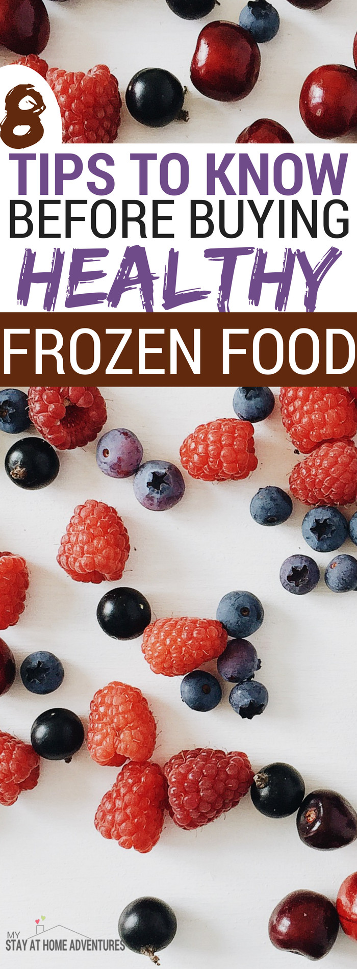 Healthy Snacks To Keep At Home  8 Tips For Buying Healthy Frozen Food You Might Not Know