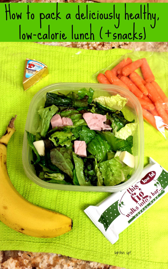 Healthy Snacks To Pack For Lunch  How to pack a deliciously healthy low calorie lunch