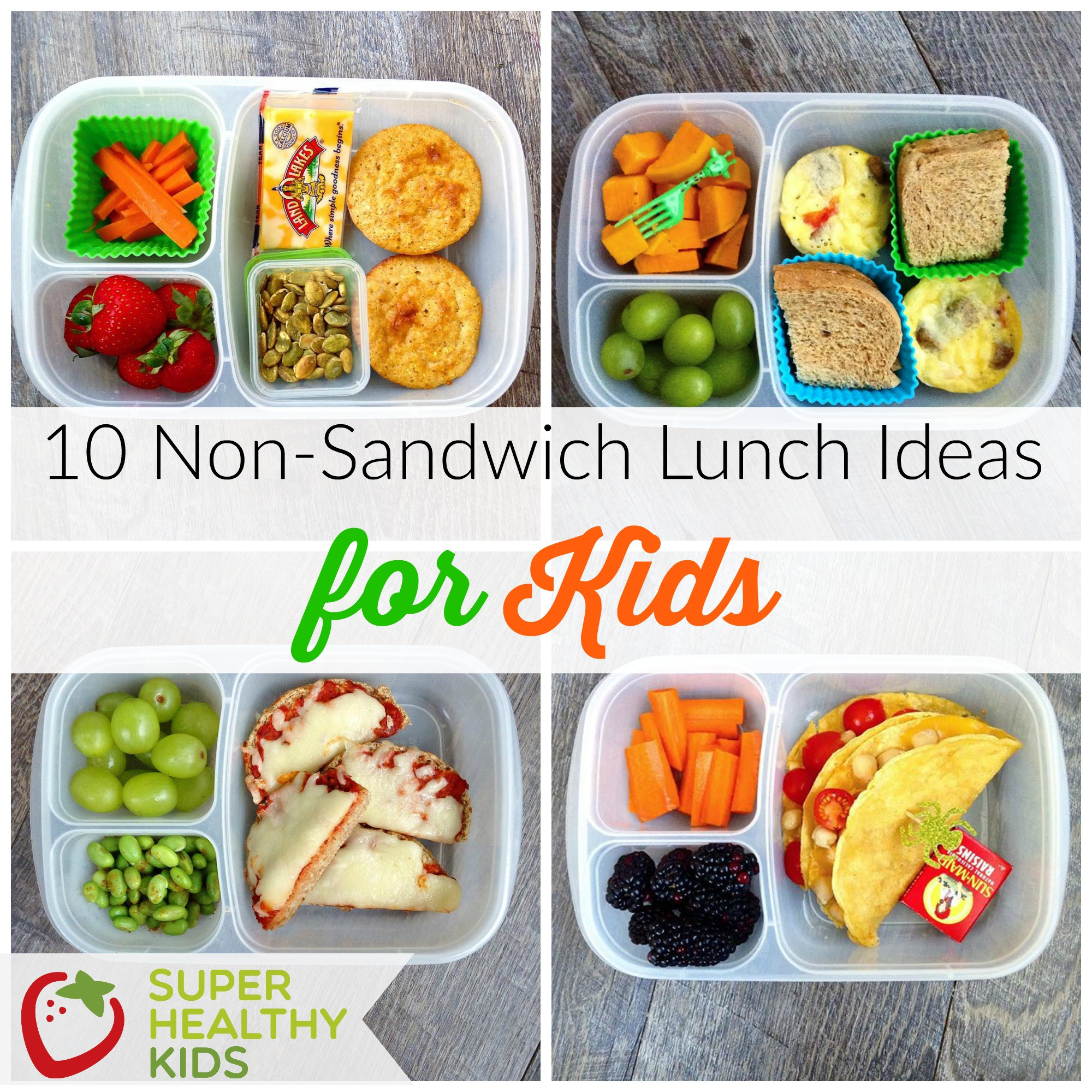 Healthy Snacks To Pack For Lunch  10 Non Sandwich Lunch Ideas for Kids