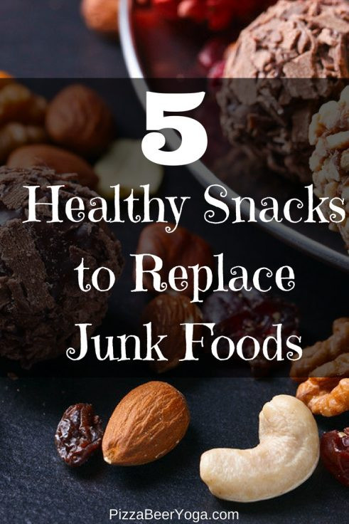 Healthy Snacks To Replace Chips  5 Healthy Snacks to Replace Junk Foods