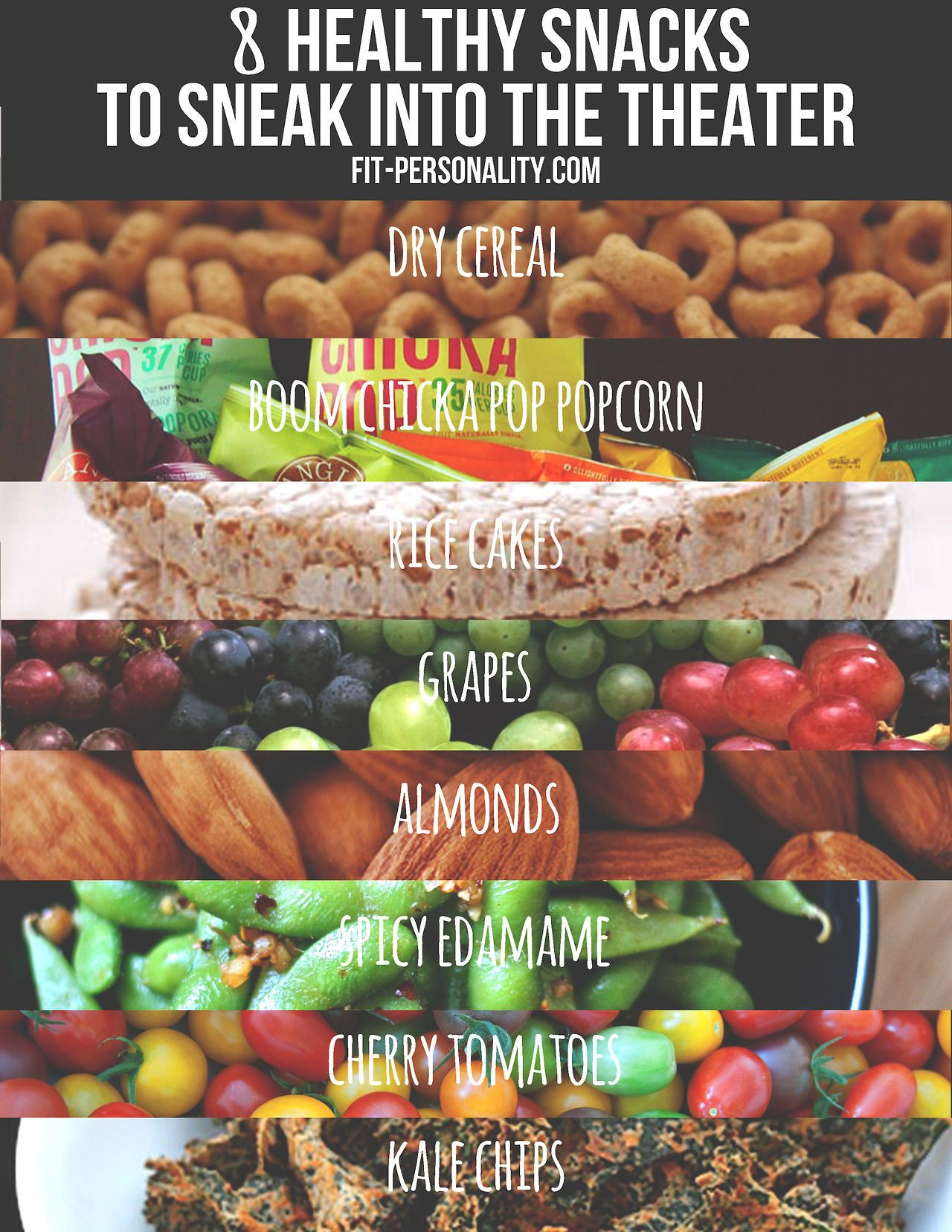 Healthy Snacks To Take To The Movies  8 Healthy Snacks to sneak into the