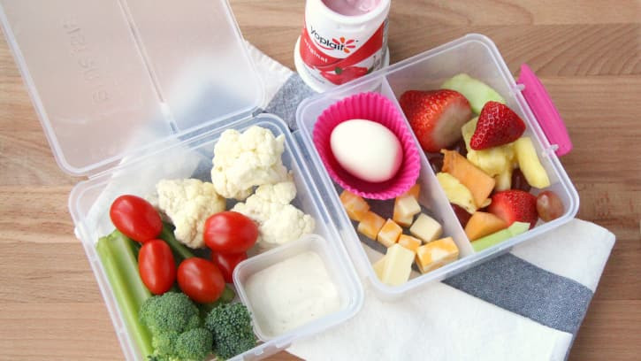 Healthy Snacks To Take To Work  3 Balanced Lunches to Bring to Work BettyCrocker