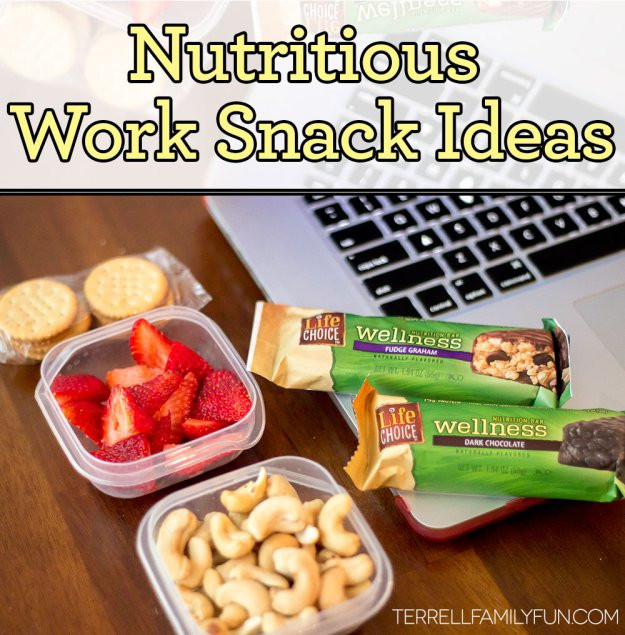 Healthy Snacks To Take To Work  Healthy Snacks for a Healthy Workplace
