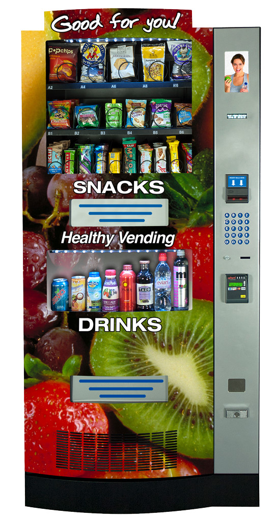 Healthy Snacks Vending Machine  Healthy Snack Vending Machine Options
