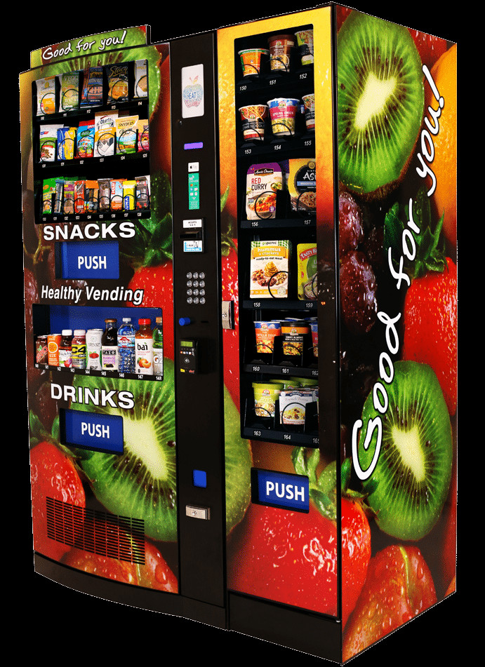 Healthy Snacks Vending Machine  HealthyYOU Vending Start a Healthy Vending Machine Business