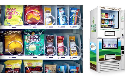 Healthy Snacks Vending Machine  HUMAN Healthy Vending Machines
