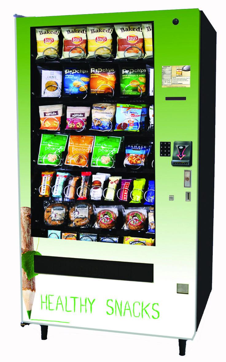 Healthy Snacks Vending Machine  29 best Healthy Vending Machine images on Pinterest