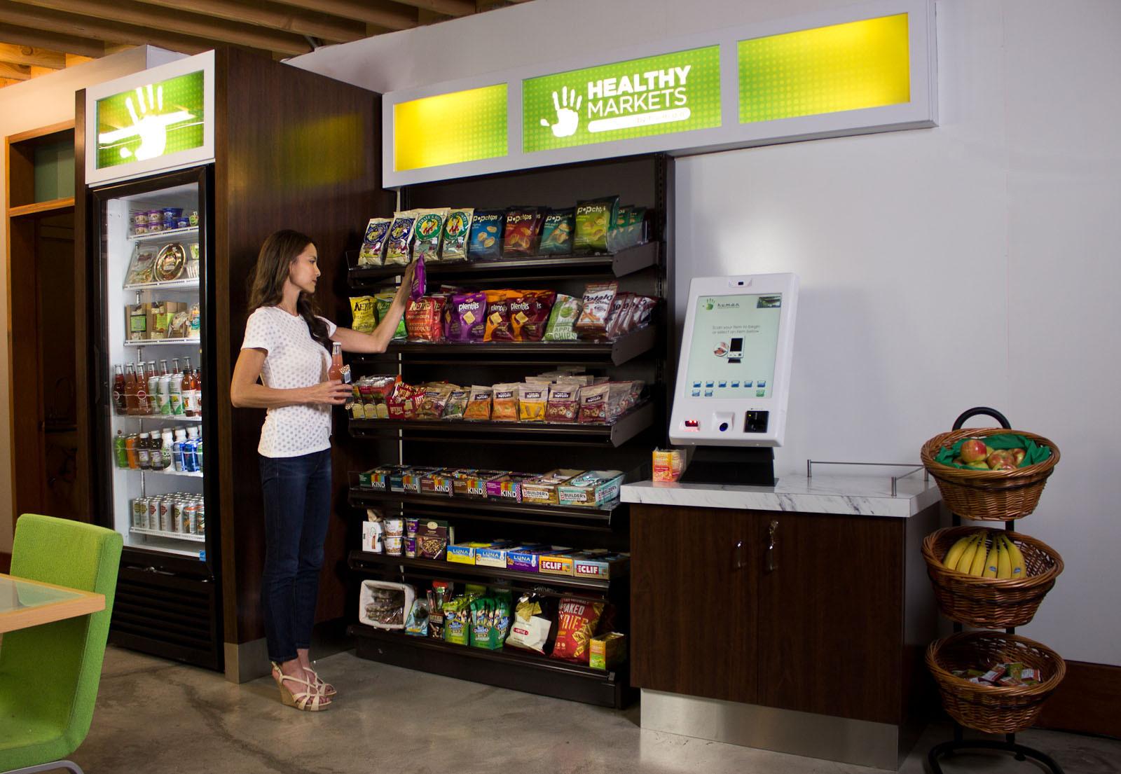 Healthy Snacks Vending Machine  HUMAN Healthy Vending Blog