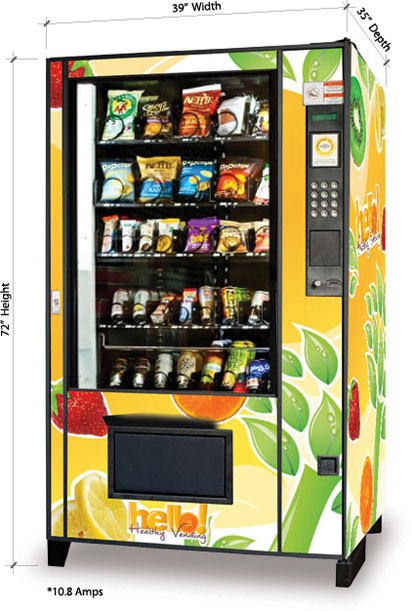 Healthy Snacks Vending Machine  Our Machines