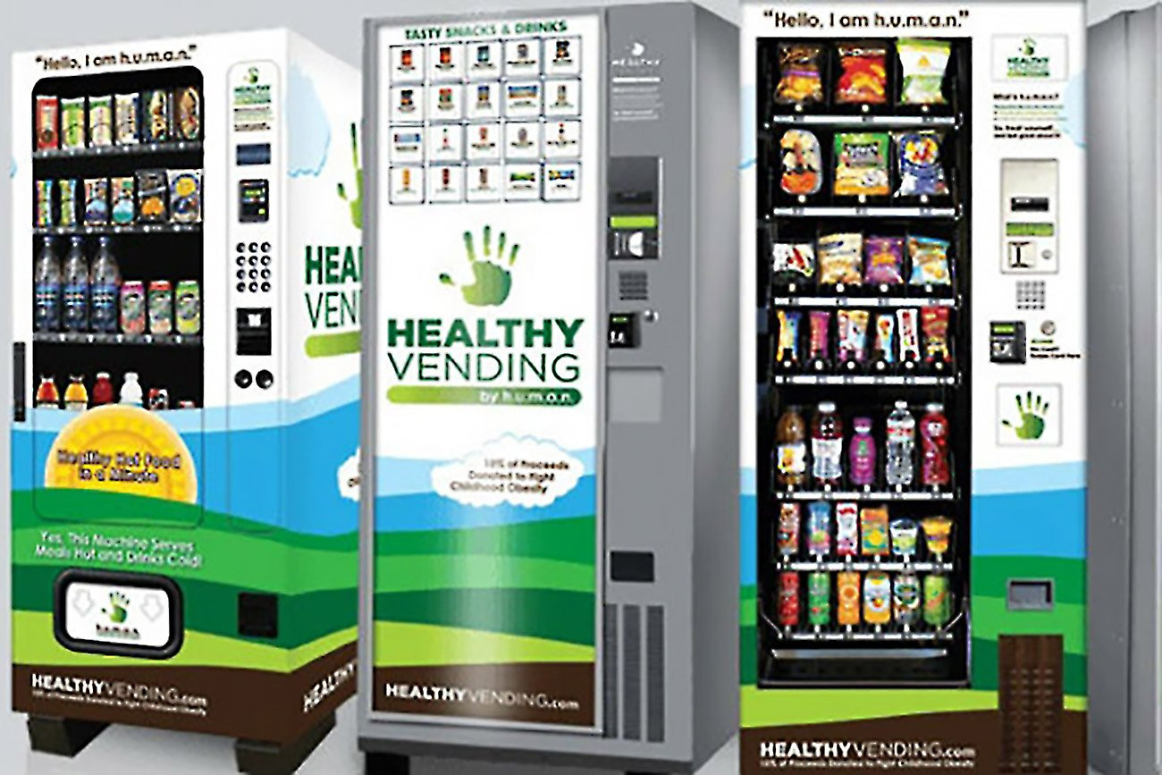 Healthy Snacks Vending Machine  High Tech Vending Machines That Serve Healthy Snacks See