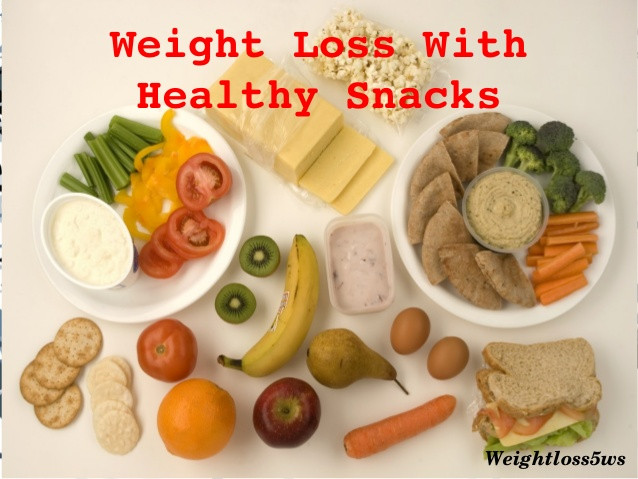 Healthy Snacks While Dieting  Healthy snacks for weight loss