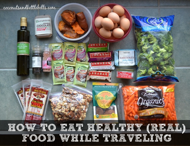 Healthy Snacks While Traveling  How to Eat Healthy While Traveling Coconuts & Kettlebells