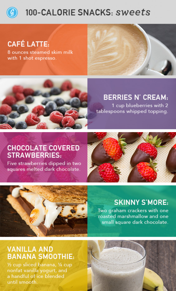 Healthy Snacks With Calories  Low Calorie Snacks 88 Unexpected Snacks Under 100