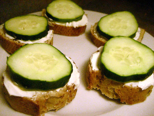 Healthy Snacks With Cream Cheese  Healthy Snack Cucumber Cream Cheese Nibblers