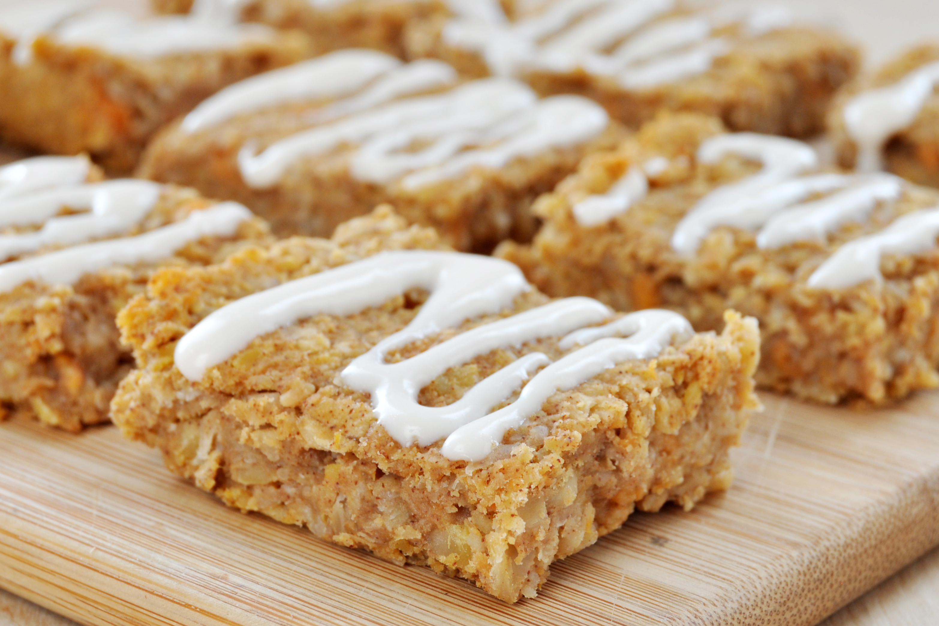 Healthy Snacks With Cream Cheese  Sweet Potato Snack Bars with Cream Cheese Frosting Vegan