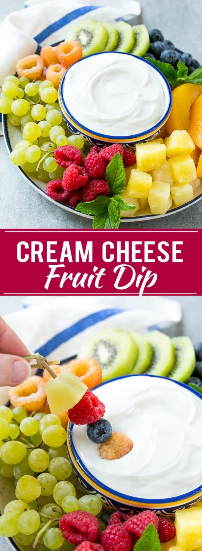 Healthy Snacks With Cream Cheese  Cream Cheese Fruit Dip Dinner at the Zoo