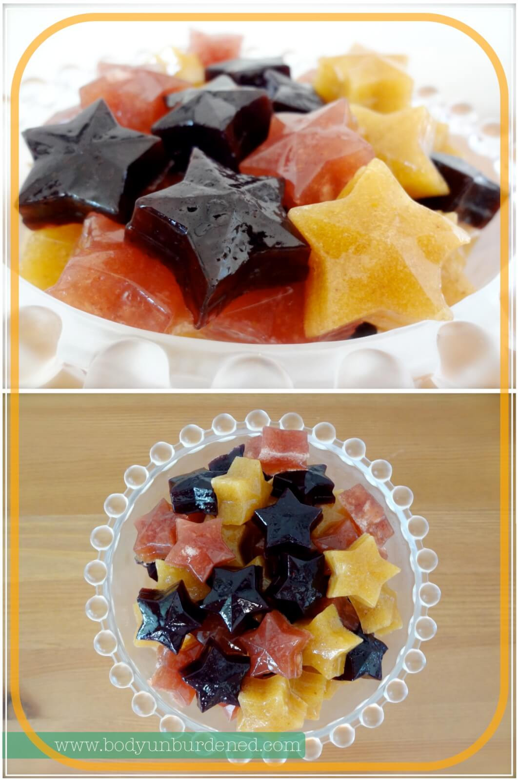 Healthy Snacks With Fruit  Homemade and healthy gummy can s