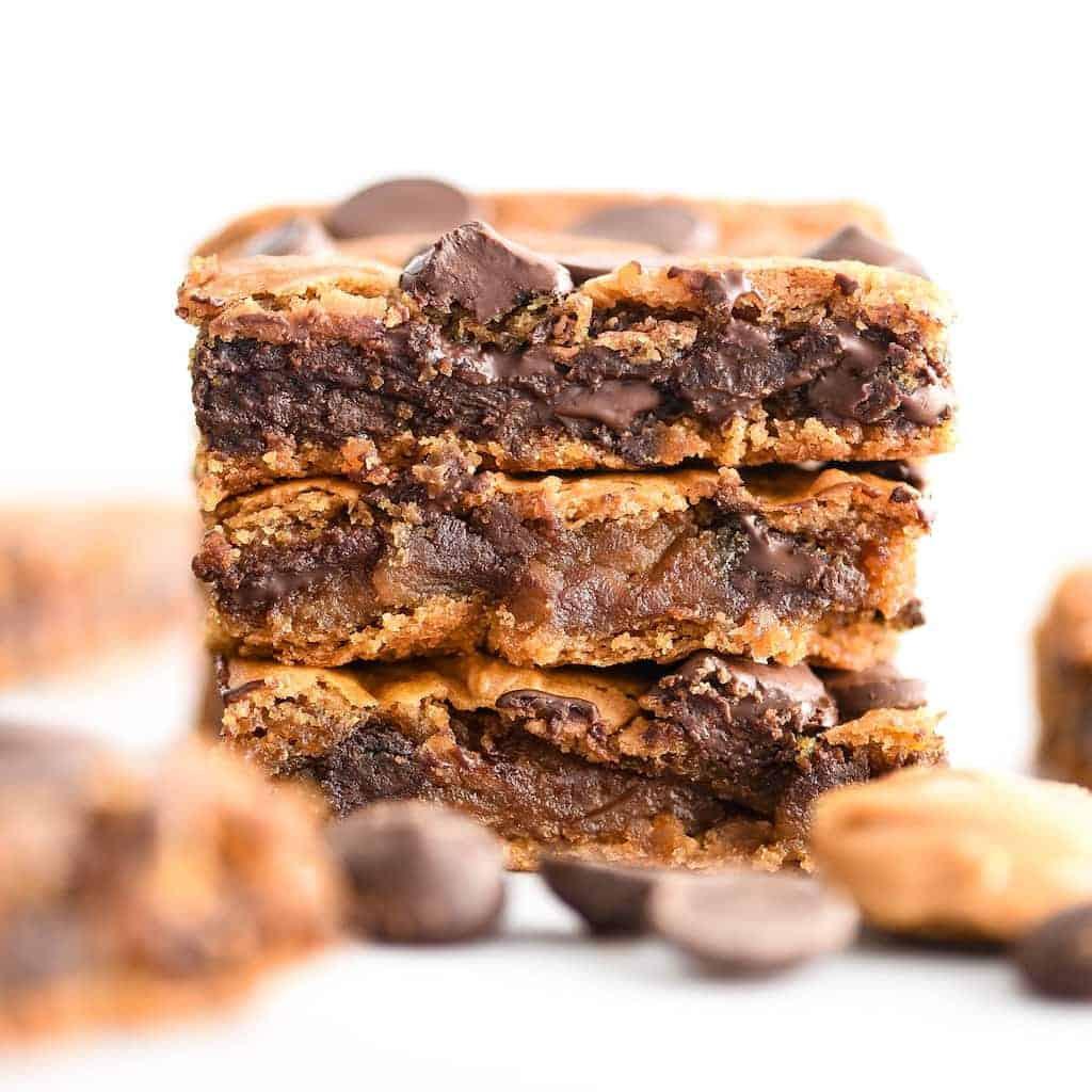 Healthy Snacks With Peanut Butter  Healthy Peanut Butter Blon s & Video JoyFoodSunshine