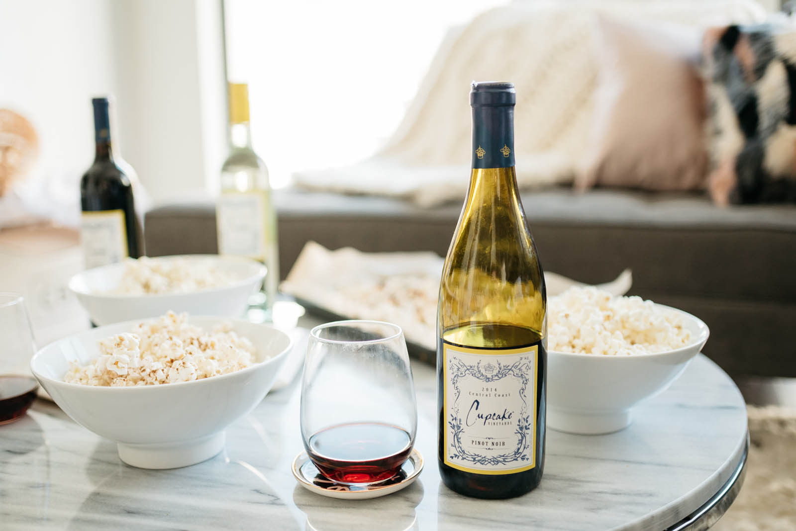 Healthy Snacks with Wine the Best the Four Best Wine & Popcorn Pairings for Your Next Girls