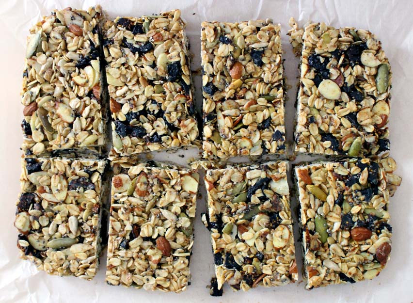 Healthy Snacks Without Nuts  DIY No Bake Chewy Granola Bars