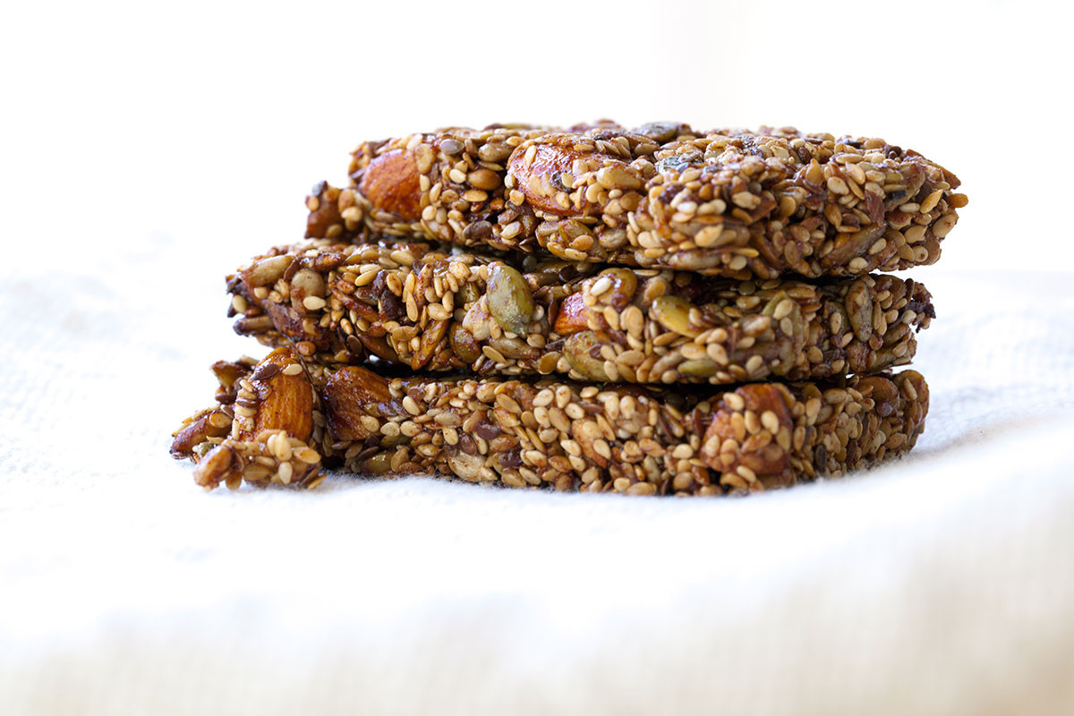 Healthy Snacks Without Nuts  Gluten Free Seed and Nut Bars Keep It Real Food pany