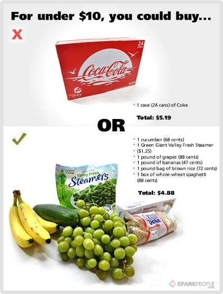 Healthy Snacks You Can Buy At The Store  $20 Food Showdown Fast Food vs Healthy Food