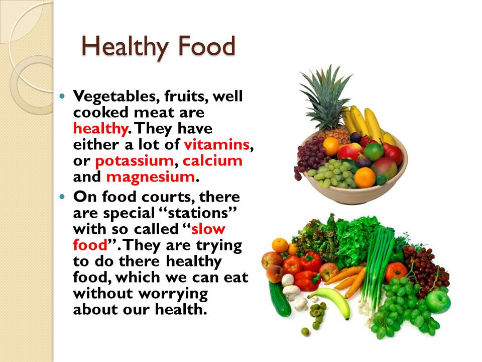 Healthy Snacks You Can Eat A Lot Of  Stay Alive Eat Healthy ppt video online