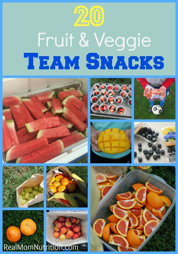 Healthy Soccer Snacks  20 Healthy Team Snacks for Kids Real Mom Nutrition