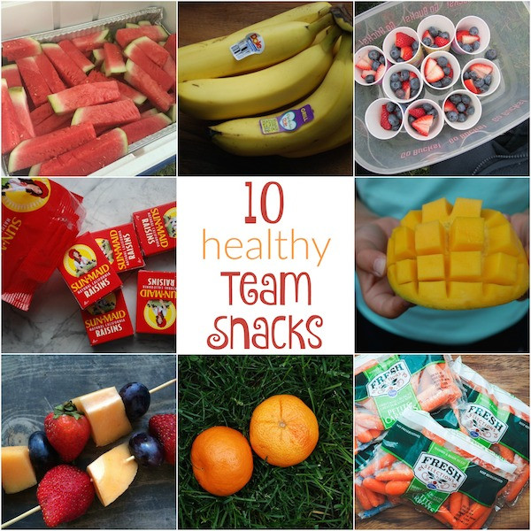 Healthy Soccer Snacks  10 Healthy Team Snacks for Kids Holley Grainger MS RDN