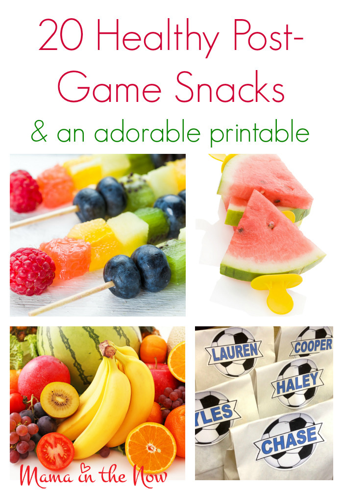 Healthy Soccer Snacks  20 Healthy Post Game Snacks