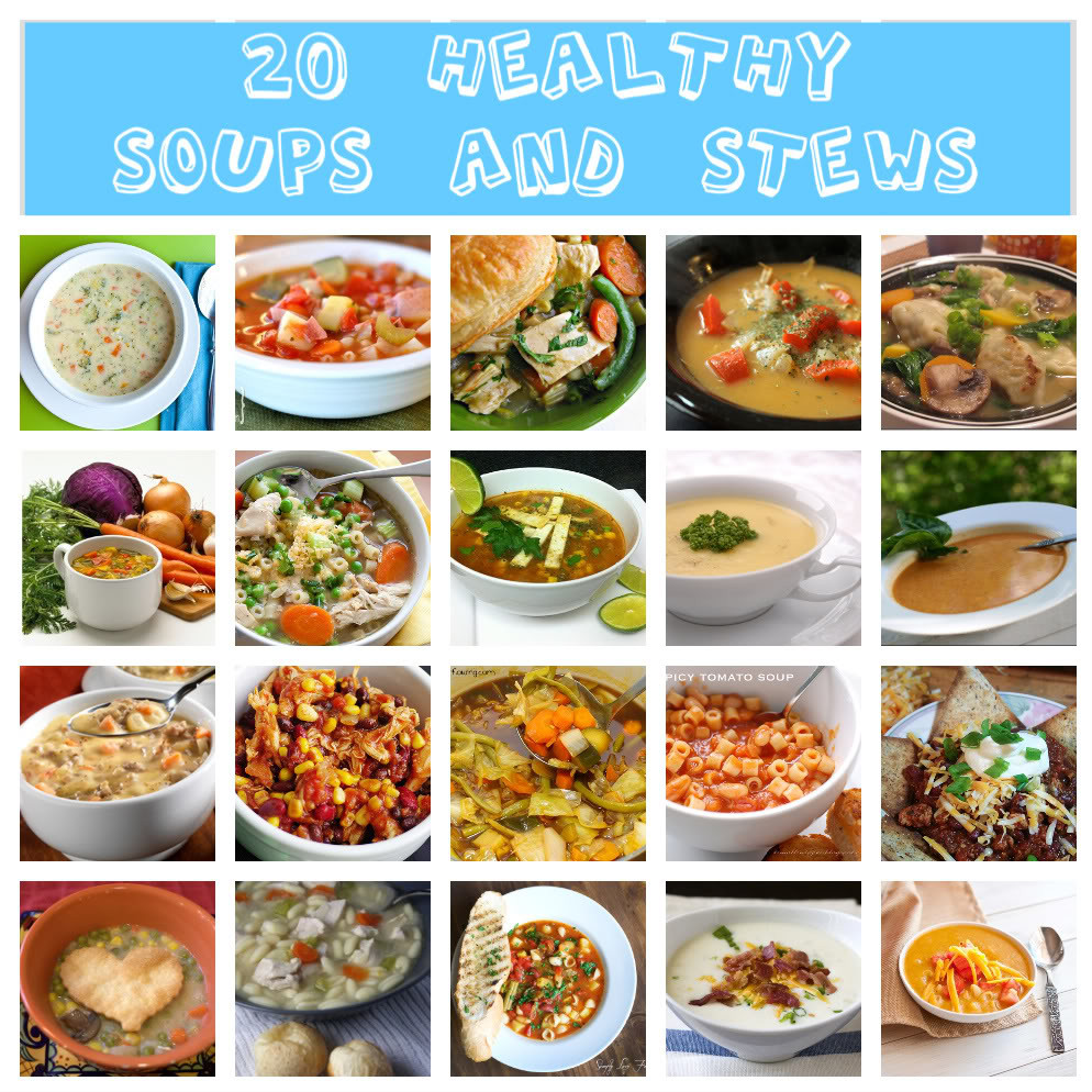 Healthy Soups And Stews  Whet Your Appetite Wednesday 20 Healthy Soups and Stews
