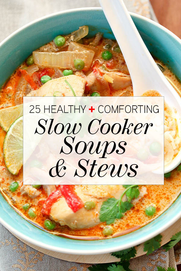 Healthy Soups And Stews  25 Healthy and forting Slow Cooker Soups & Stews