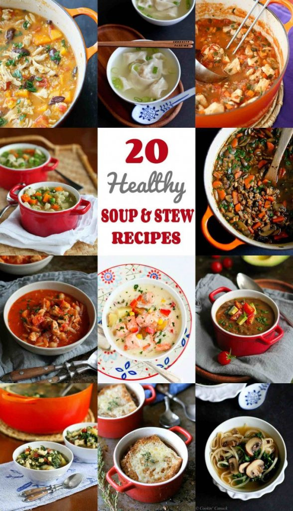 Healthy Soups And Stews  20 Healthy Soup & Stew Recipes