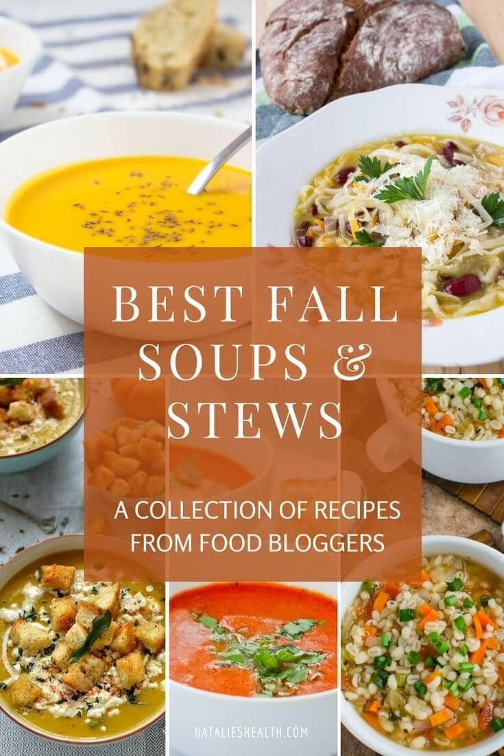 Healthy Soups And Stews  Best Fall Soups And Stews Recipes Natalie s Food & Health