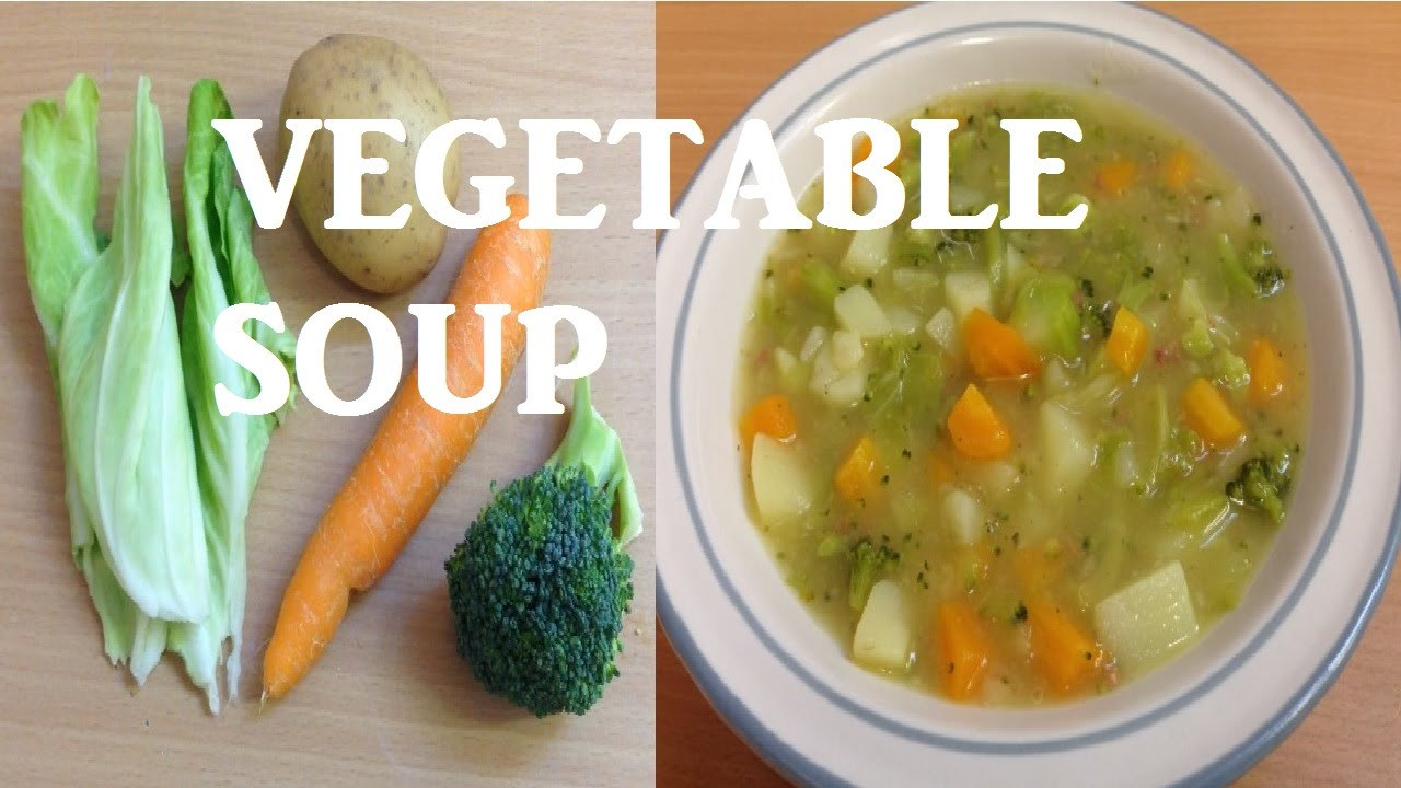 Healthy Soups To Make  How to make Quick Healthy and Easy Homemade Chunky
