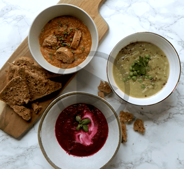 Healthy Soups To Make  How to make three healthy soups for autumn Healthy Food