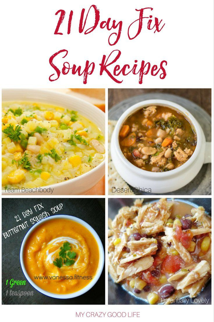 Healthy Soups To Make  Soup is healthy and easy to make Add some of these 21 Day