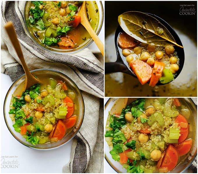 Healthy Soups To Make  Ve able Soup this healthy soup takes under 30 minutes