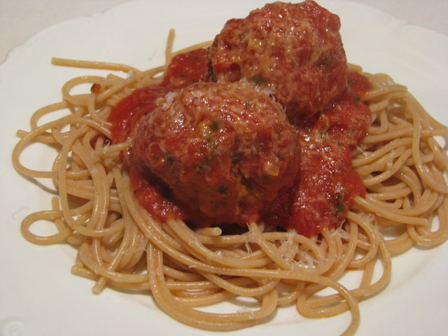 Healthy Spaghetti And Meatballs  Healthy Spaghetti and Meatballs The Flavorful Fork